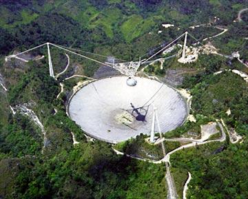 El enigma extraterrestre de Arecibo versus Chilbolton.