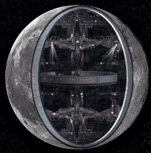 luna hueca