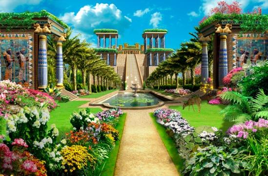 jardines colgantes de babilonia el arca de los dioses
