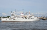 he oceanographic research ship Admiral Vladimisky.